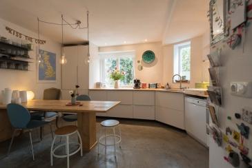 Gezellige keuken mét vloerverwarming