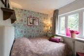De romantische roze slaapkamer